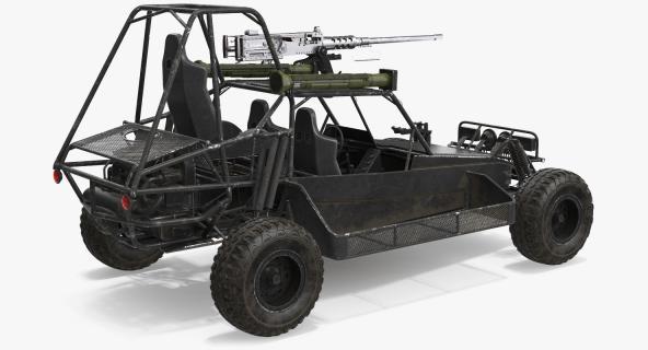3D model Desert Patrol Vehicle DPV