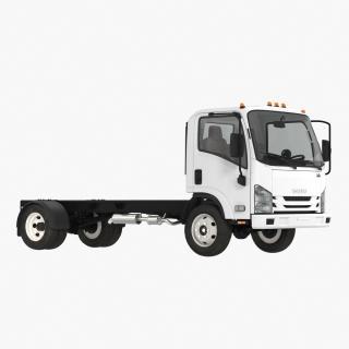 3D Commercial Truck Isuzu NPR 2018