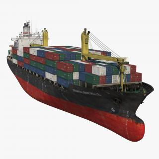 Container Ship Generic 3D