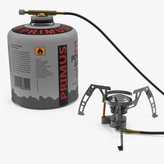3D Portable Camping Gas Stove 2 model
