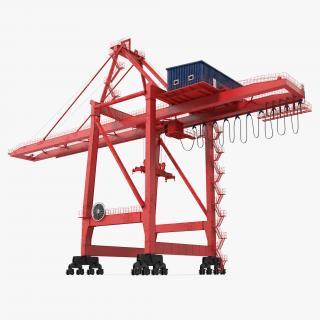 Ship to Shore Crane 3D model