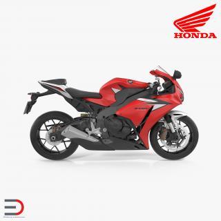 New Honda CBR1000RR Fireblade SP 2016 3D