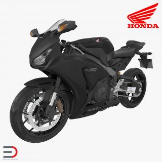3D Sport Motorcycles Honda Fireblade 2017 model