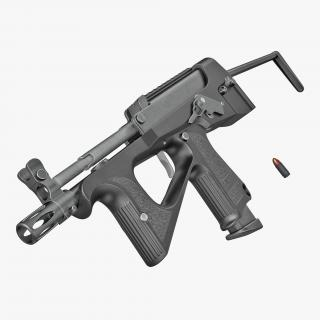 3D Machine Pistol PP-2000 SMG