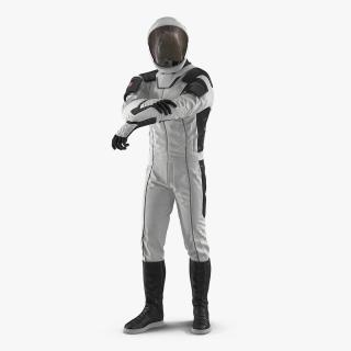 3D Futuristic Space Suit Rigged model