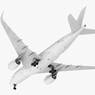 3D Airbus A350-800 Generic model