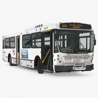 3D model Bus Nabi Model 416 Rigged