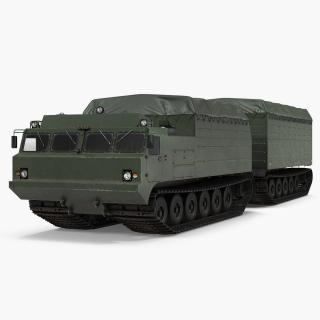 Articulated Tracked Vehicle Vityaz DT 30-ATV 3D model