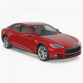 3D Tesla Model S 60 2015