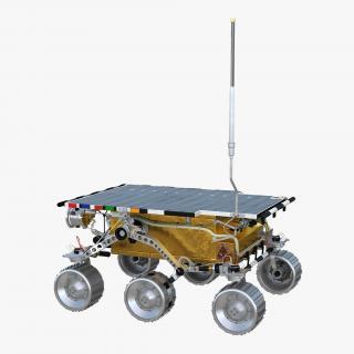 3D model Mars Rover Sojourner