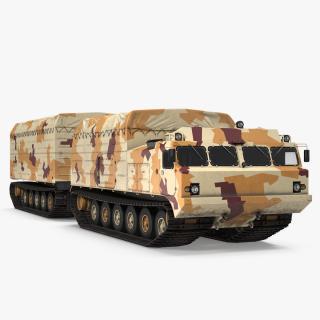 3D Vityaz DT-30 ATV Desert Camo model