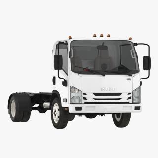 Commercial Truck Isuzu NPR 2018 Simple Interior 3D