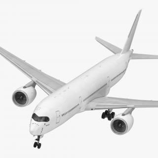 3D Airbus A350-900 Generic model