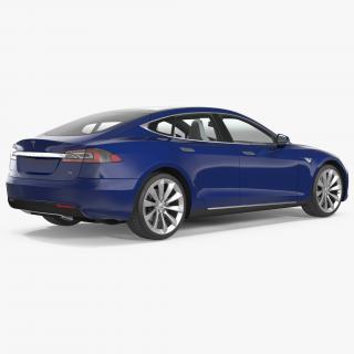 3D Tesla Model S 75 2017
