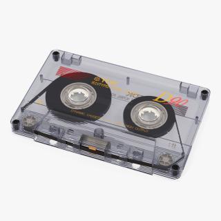 3D model Transparent Old Audio Cassette