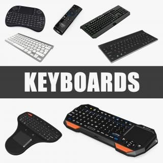 3D model Keyboards Collection