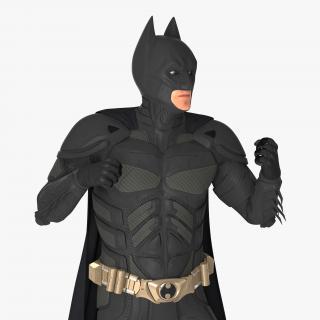 3D model Batman Fighting Pose