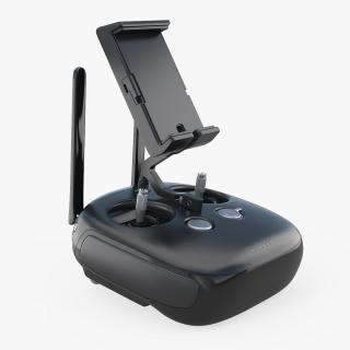 3D model DJI INspire 1 Black Edition Remote Controller