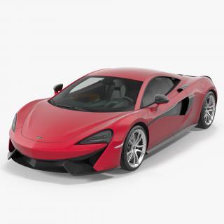 3D McLaren 570S Coupe model