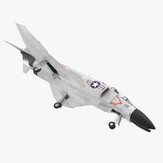 F-4 Phantom II US Navy 2 3D model