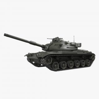 Main Battle Tank M60 Patton 3D