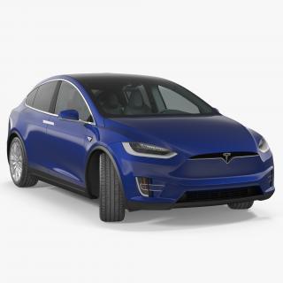 Tesla Model X P100D 2017 3D model