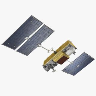 Communications Satellite 3D model