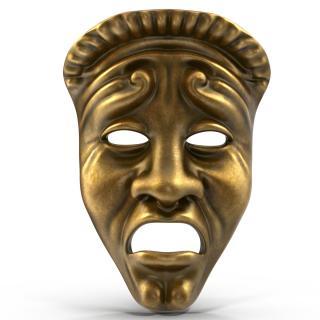 3D model Theatre Tragedy Mask