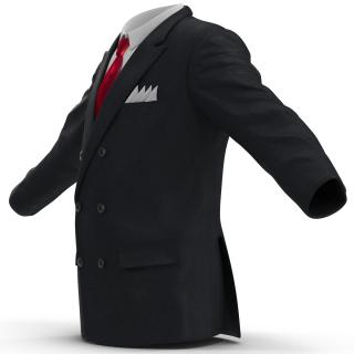 3D Mens Suit Jacket 4 model