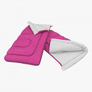 Sleeping Bag Pink 3D
