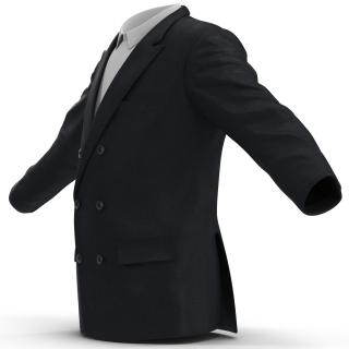 3D Mens Suit Jacket 5 model