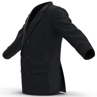3D Mens Suit Jacket 7 model