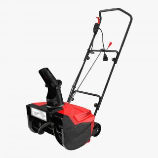 3D model Manual Snow Removal Equipment Collection
