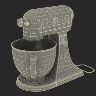 3D model Stand Mixer Red