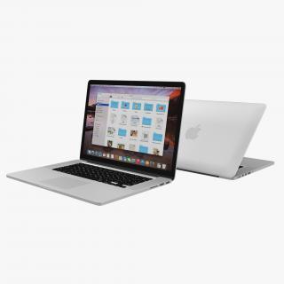 MacBook Pro with Retina display 15 inch 3D model