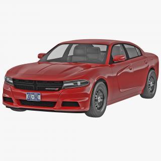 3D Dodge Charger 2015 model