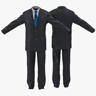 3D Casual Mens Suit