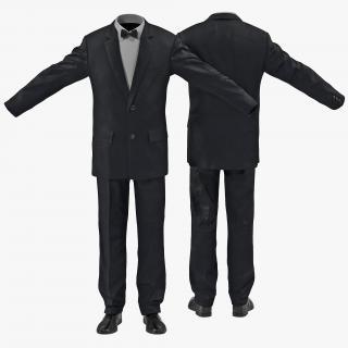 3D Formal Classic Men Suit model