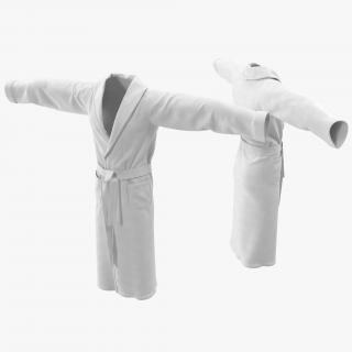 3D model Bathrobe T-Pose