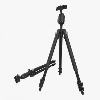 3D Camera Tripod model