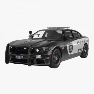 3D Generic Police Car model
