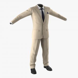 3D model Men Suit 9