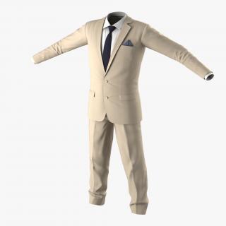 3D Men Suit 10