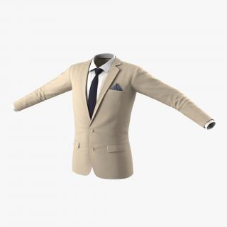 3D Mens Suit Jacket 8 model