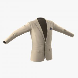 3D Mens Suit Jacket 9 model