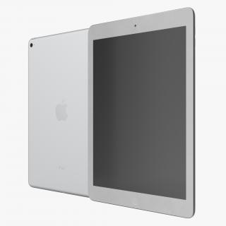 iPad Air 2 Silver 3D