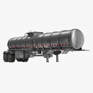 Tanker Trailer 3D model