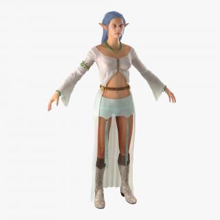 Female Elf 2 3D