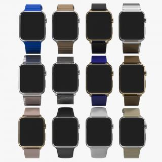 Apple Watch 3D Models Collection 3D