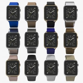 Apple Watch 3D Models Collection 3 3D model